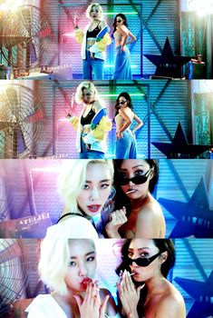 WheeIn x Hwasa | EASY MV Kpop Girl Groups, Kpop Girls, K Pop, Wheein Mamamoo, Queens, The Perfect Girl, Soyeon, Worldwide Handsome, Actors