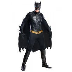 DisfracesMimo, disfraz batman the dark knight rises prestige negro talla m para hombre  adulto, este traje para tematica de superheroes de batman. La identidad secreta de Batman ha sido siempre Bruce Wayne, un empresario multimillonario y filántropo. Transformate en murcielago.