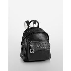 33bc70864ed5c Calvin Klein Women s Hailey Studio Backpack (205 SAR) ❤ liked on Polyvore  featuring bags