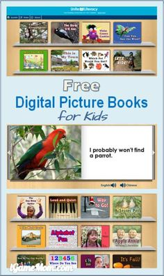 Free digital picture books for kids #kidlit