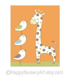 Poster for kids room or nurseryboy wall art for by HappyNurseryArt