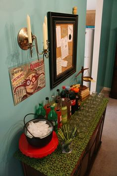 Harry Potter party - general decor