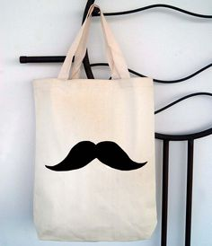 Screen Printed Recycled Cotton Shopper Tote - Reusable ...