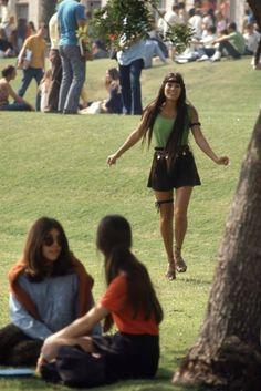 Photos of California high school life, 1969