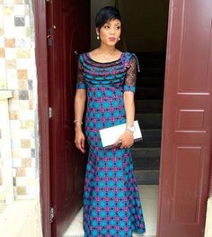 Checkout These Mind-Blowing Ankara Styles That Will Take Your Breath Away - Wedding Digest Naija African Dresses For Women, African Print Dresses, African Print Fashion, Africa Fashion, African Attire, African Fashion Dresses, African Outfits, African Clothes, Latest Ankara Dresses