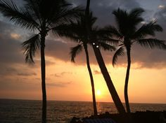 Sunset in Hawaii (March 2012)