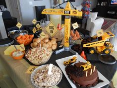 Construction party Birthday Party Ideas | Photo 3 of 12 | Catch My Party