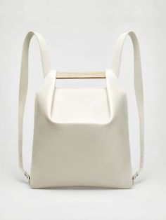 Agneskovacs Pons Mini Backpack in Beige Mini Backpack, Backpack Bags, Leather Backpack, Leather Bag, Small Backpack, Chic Backpack, Mini Bag, Leather Purses, Soft Leather