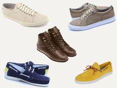 Tênis, mocassins, sapatênis, botinhas… reunimos alguns modelos de sapatos masculinos nos mais diversos estilos para a estação mais quente do ano. Confira!