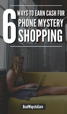 Here's a list of six ways you can get paid for phone mystery shopping - you don't have to leave the house. via @RealWaystoEarn