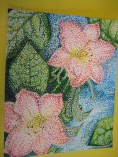 Pointillism Lesson Plans | Via Marilyn Ring