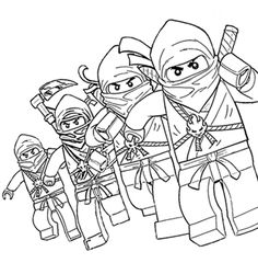 free printable lego ninjago coloring pages coloring home