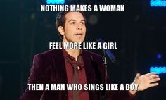 """""""Nothing makes a woman fell more like a girl than a man who sings like a boy."""" I LOVE Pitch Perfect!:)"""