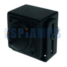 Mini cámara espía SONY para CCTV de 700TVL de baja iluminación (0.01lux) 12 V y conexion BNC. Posee un tamaño reducido de tan solo 30 x 30 mm. Ideal para conectar a los DVR fijos o portátiles.