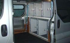 Image result for k9 cage van #dogtransportkennel #dogcratevan