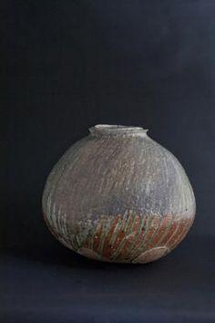 Shigaraki Spherical Jar- Tsujimura