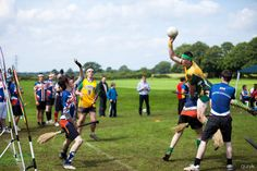 flying high at the international Quidditch tournament in Oxford, England