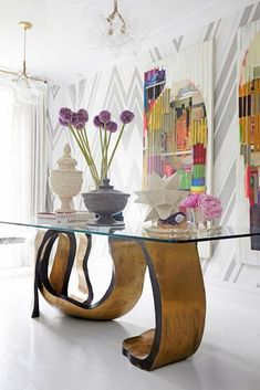 12 Funky Home Decor To Rock This Summer - Best Home Design Interior Design Boards, Interior Design Inspiration, Furniture Inspiration, New York Townhouse, Modern Entryway, Entryway Ideas, Entry Way Design, Funky Home Decor, Eclectic Decor