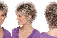 Startling Useful Tips: Wedding Hairstyles Brunette short pixie hairstyles.Boho Hairstyles Dreads women hairstyles over 50 photo galleries.Women Hairstyles Over 50 Photo Galleries. Short Hair Wigs, Cute Hairstyles For Short Hair, Trendy Hairstyles, Curly Hair Styles, Feathered Hairstyles, Shaggy Hairstyles, Hairstyles 2016, Short Layered Hairstyles, Ladies Hairstyles
