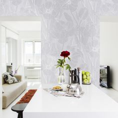 Jolie grey by Tanja Orsjoki - Wallpapers / Tapetit