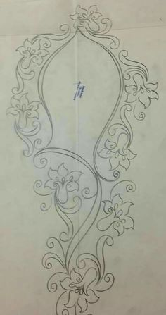 This post was discovered by Reyhan Yılmaz. Discover (and save!) your own Posts on Unirazi. Bordados Tambour, Tambour Embroidery, Silk Ribbon Embroidery, Floral Embroidery, Embroidery Patterns, Hand Embroidery, Doodle Designs, Stencil Designs, Applique Designs