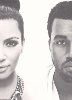 Kim and Kanye omg I'm sorry