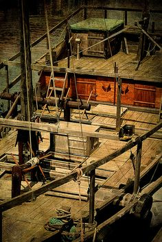 PAINTINGS OF CHINESE JUNKS | Chinese Junk | Flickr - Photo Sharing!