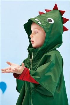 Buy Dinosaur Poncho (3mths-6yrs) from the Next UK online shop
