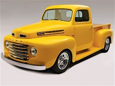 This Amazing 1950 Ford Started Out as a Lost Cause – Hot Rod Network – En Güncel Araba Resimleri 1950 Ford Pickup, 1951 Ford Truck, Old Ford Trucks, Diesel Trucks, Lifted Trucks, Ford Diesel, Ford 4x4, Lifted Ford, 4x4 Trucks
