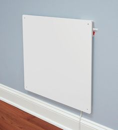 Eco-Friendly Wall-Mounted Heater uses 70% less energy than traditional space heaters.