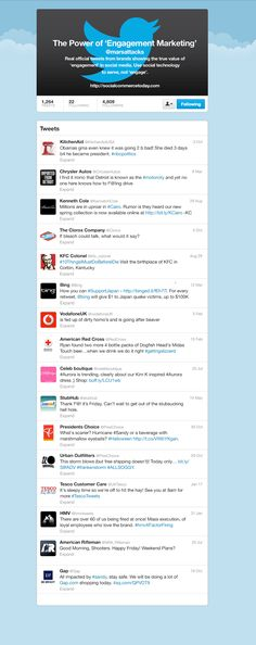 Mar 2013 list of worst brand twitter fails w good advice--serve customers, not engage