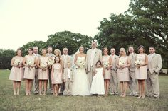 Love the nude, white and light pink color palette! so chic! #wedding http://hollytrippeventdesign.com