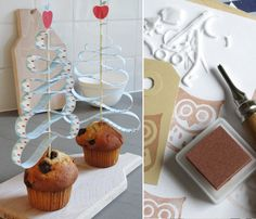 Christmas Tree Cake Toppers