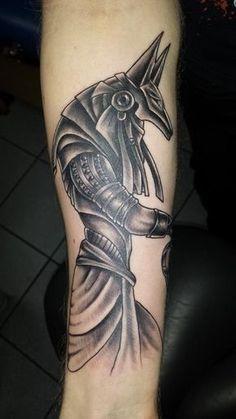 Tattoo-Foto: Anubis Stargate