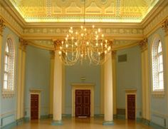 Ballroom or Assembly Room of Newark Town Hall, Nottinghamshire