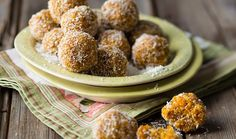Coconut and Dried Apricot Energy Balls