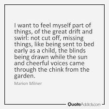 Bildergebnis für marion milner Things I Want, Feelings