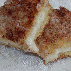 Cinnamon Cream Cheese Squares Recipe AKA Princess Squares