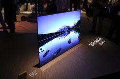 CESにはものすごく多くのテレビが出品されているが、ぼくの関心を惹いたものは、ほとんどない。そんな中でしかし、Sonyの主力機Braviaシリーズの最新機種は、なかなかすごいようだ。  それは4KでHDRでOLEDのテレビで、SonyのA1Eシリーズと呼ばれる。エッジツーエッジ(edge-to-edge)(枠(..
