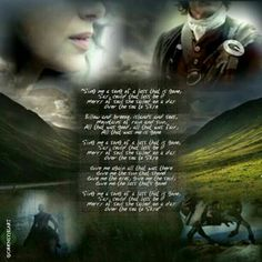"""""""The Skye Boat Song"""" The wonderful Outlander opening theme by Bear McCreary and Raya Yarbrough 🌟 🌟 🌟 """"Sing me a song of a lass that is gone, Say, could that lass be I? Merry of soul she sailed on a day Over. Claire Fraser, Jamie Fraser, Outlander Fan Art, Outlander Quotes, Starz Outlander, Robert Louis Stevenson Poems, The Skye Boat Song, Book Series, Books"""