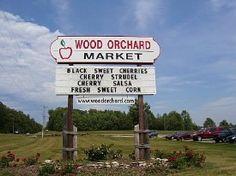Wood Orchard Market      Door County, Wi