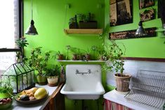 Ideas Kitchen Colors Green Apartment Therapy For 2019 Green Apartment, Brooklyn Apartment, Apartment Therapy, Ikea Pax, Green Kitchen, Kitchen Colors, Design Kitchen, Apartamento No Brooklyn, Bedroom Minimalist