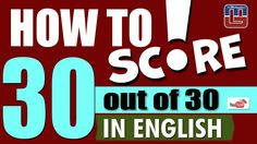 HOW TO SCORE 30 OUT OF 30 IN ENGLISH   ENGLISH   SBI PO 2017