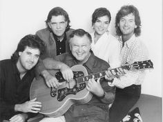 From left: Vince Gill, Guy Clark, John D. Loudermilk, Rosanne Cash and Rodney Crowell.