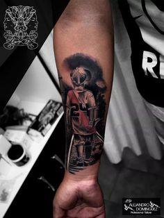 Soccer Tattoos, Football Tattoo, Father Tattoos, New Tattoos, River Tattoo, Tatting, Kakashi, Tattoo Ideas, Street