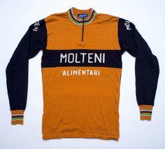 Molteni Alimentari merino Wool cycling jersey a10ec6ad3