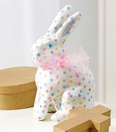 Decoupage Paper Mache Bunny | Easter Crafts | Spring Crafts | Kids Easter Crafts