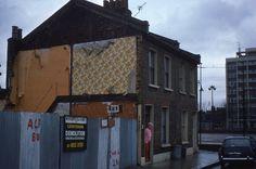 Belhaven Street, Bethnal Green 1977 #London