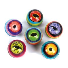 Reptile Eyes Bouncy Balls add color and fun to your snake birthday party!
