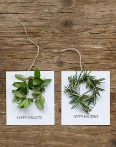DIY Mini Wreath Holiday Cards by Raelynn8